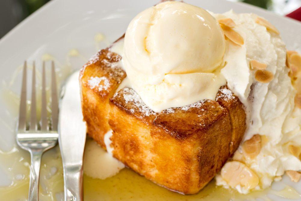 vanilla ice cream peanut butter