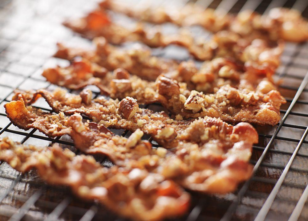 candied bacon pecans