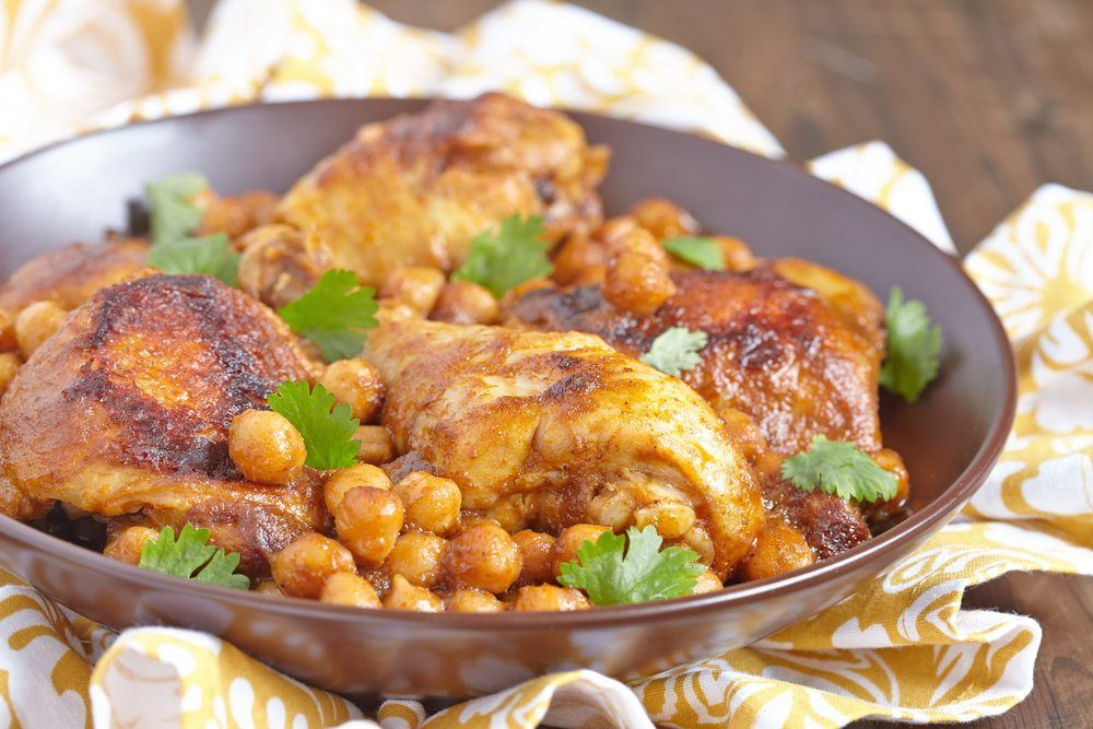 chickpea curry chicken