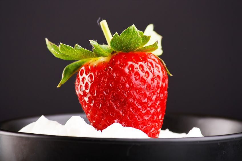 Strawberry and cool whip