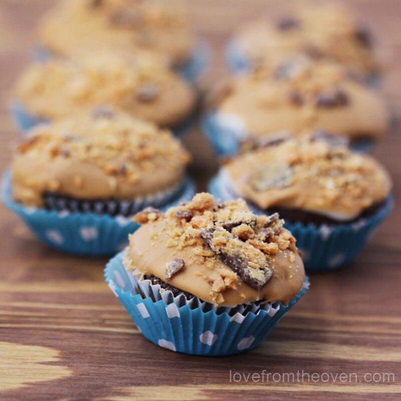Candybar-Cupcakes-Butterfinger