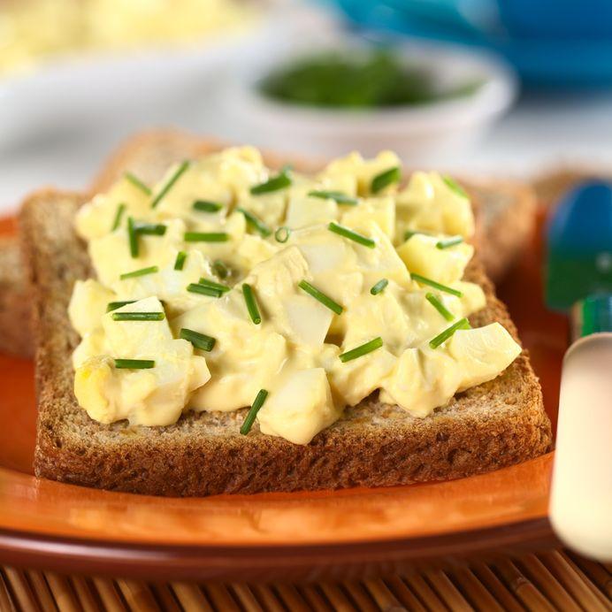 Egg Salad on Toast