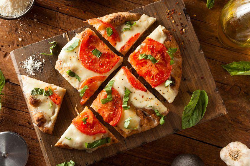 Margarita Flatbread Pizza