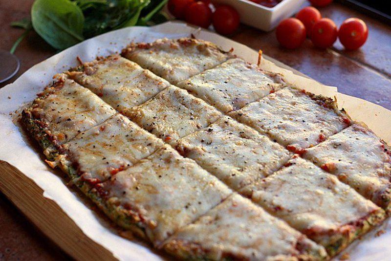 Nut-Free Zucchini Pizza Crust