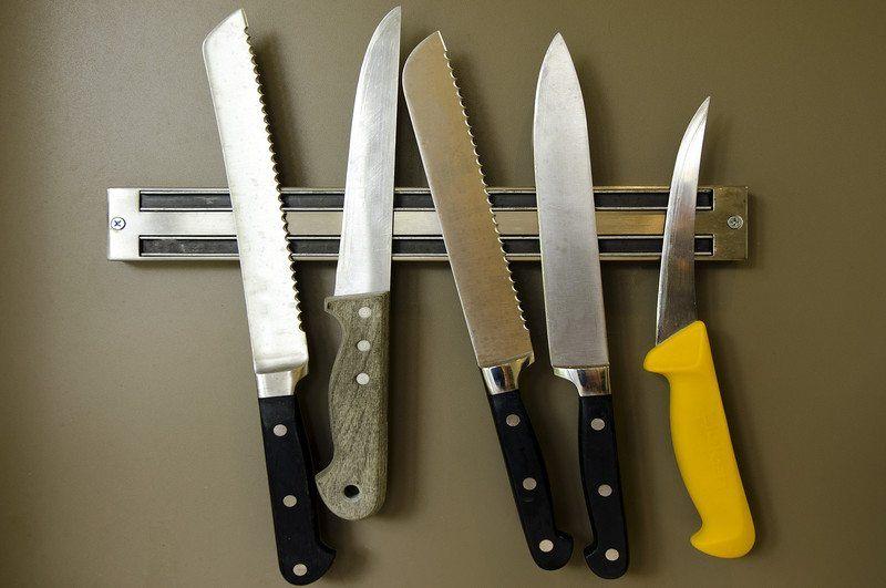 magnetic bar kitchen knives storage