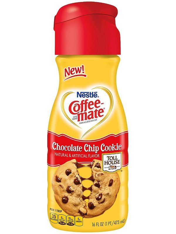 Coffee Mate Nestle Chocolate Chip Cookie Creamer