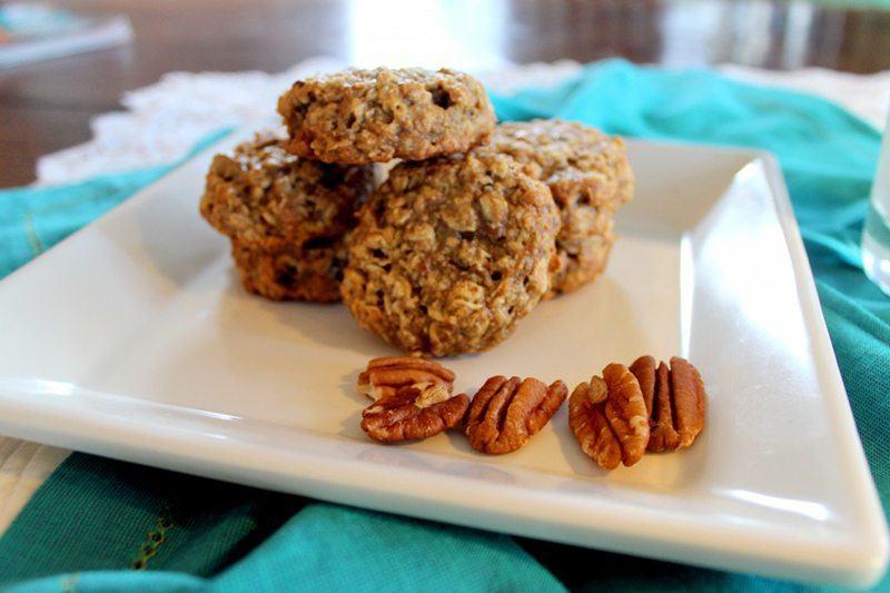 Gluten-Free Oatmeal Pecan Cookies