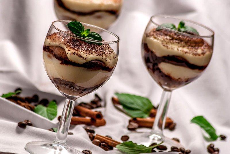 Gluten Free Desserts Stock Photo