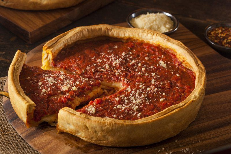 Bisquick-Based Chicago-Style Pizza Crust