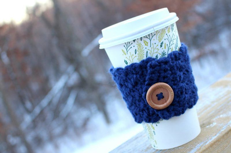 Felted Themed Coffee Sleeves