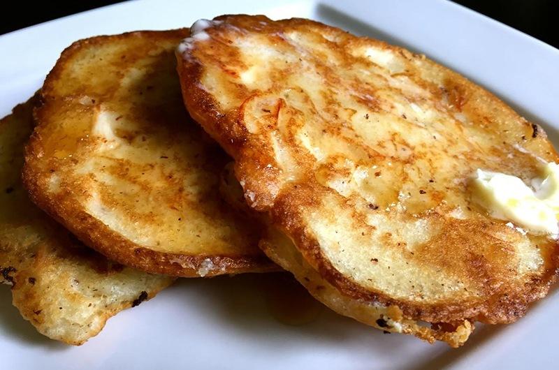 Gluten-Free Smoked Chicken Pancakes