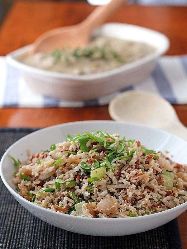 Grain-Free Stuffing With Cauliflower Rice