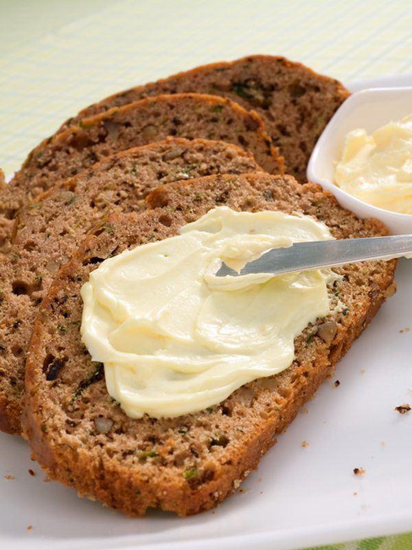 Healthier Vegan Zucchini Bread