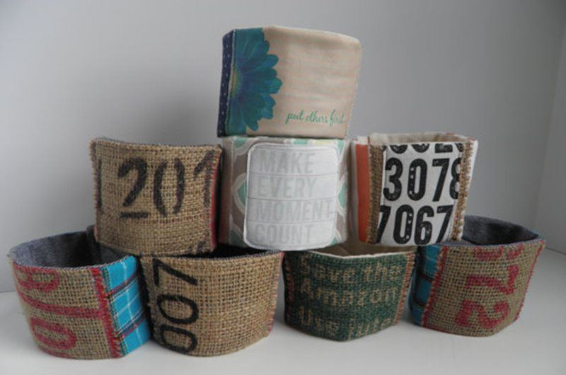Patchwork Coffee Sleeve