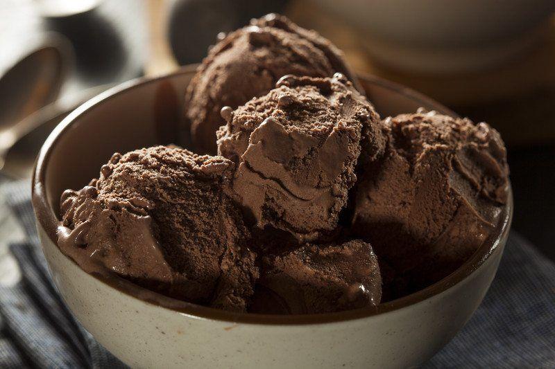 chocolate gluten free ice cream