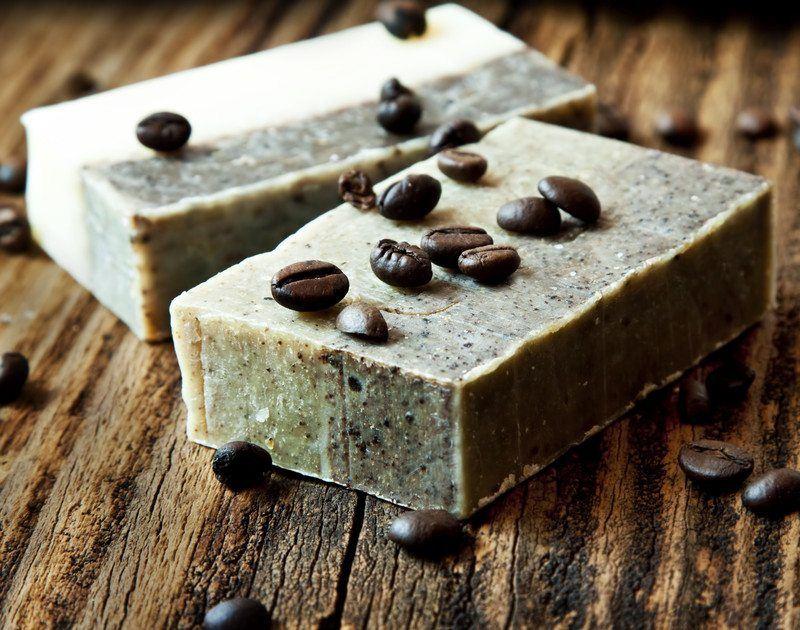 coffee soap scrub