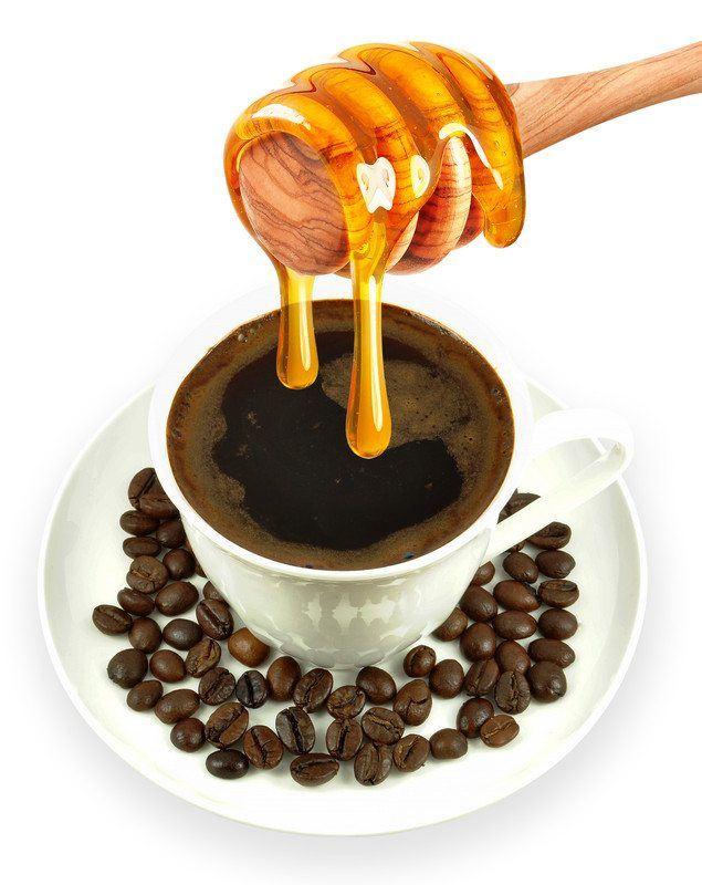 espresso grounds honey body scrub