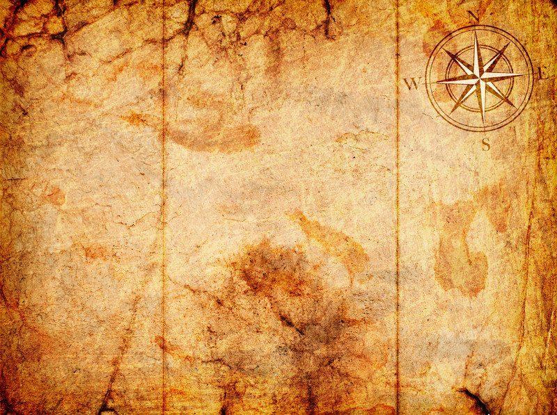 pirate scroll antique coffee paper