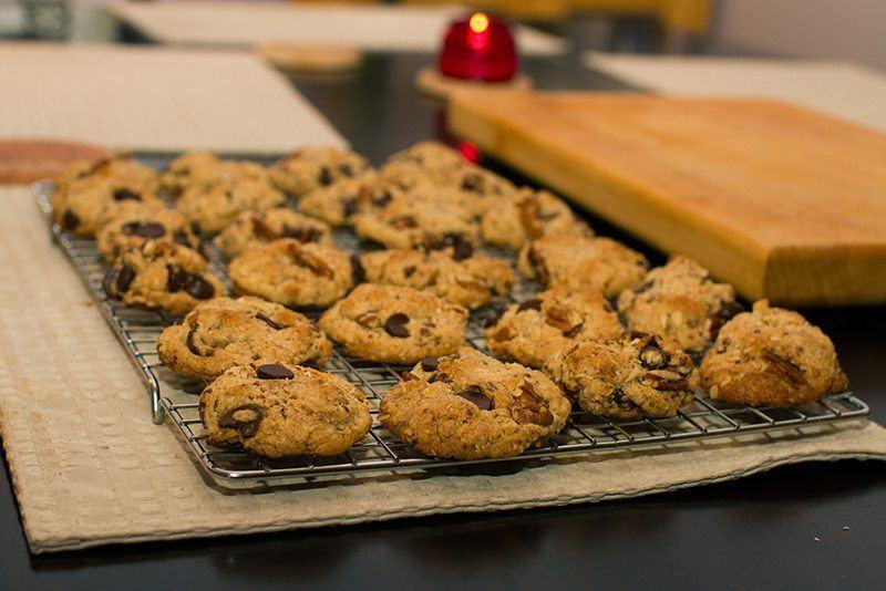 Banana-Zucchini Chocolate Chip Cookies