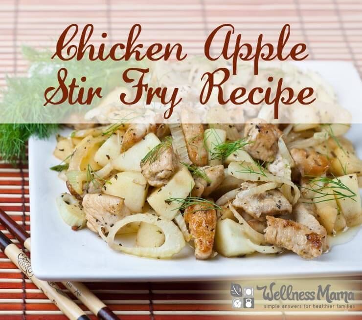 Chicken Apple Stir Fry