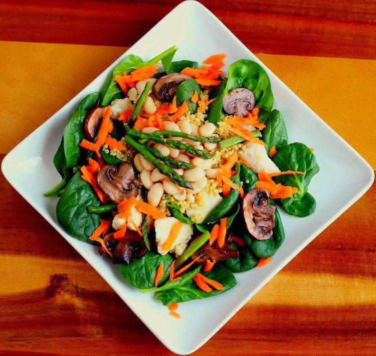 Chicken, Quinoa and Veggie Power Bowl
