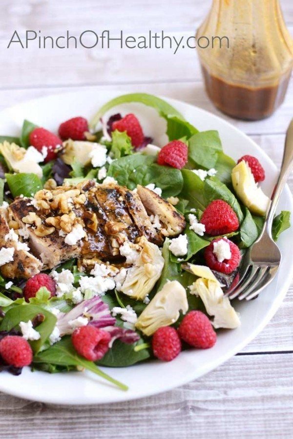 Chicken Salad with Raspberry