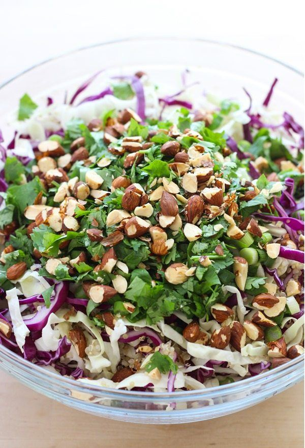 Crunchy Quinoa Power Bowl