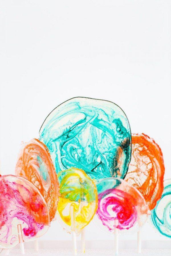DIY Spiked Lollipops