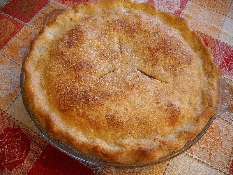 Hard Cider Apple Pie
