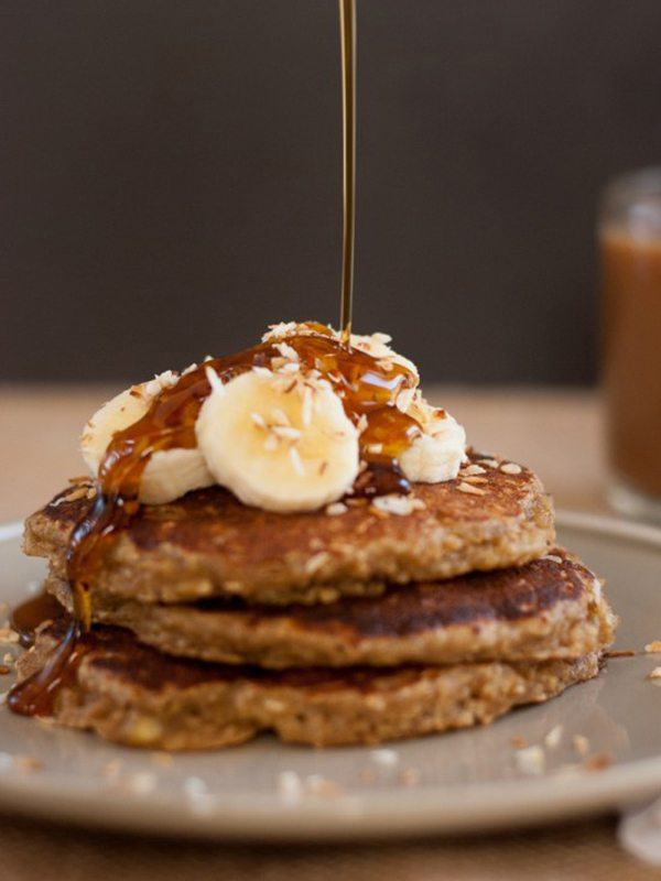 Dairy-Free Banana Oat Pancakes by Cookie and Kate