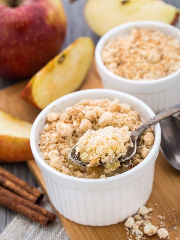Easy One-Flour Apple Crisp