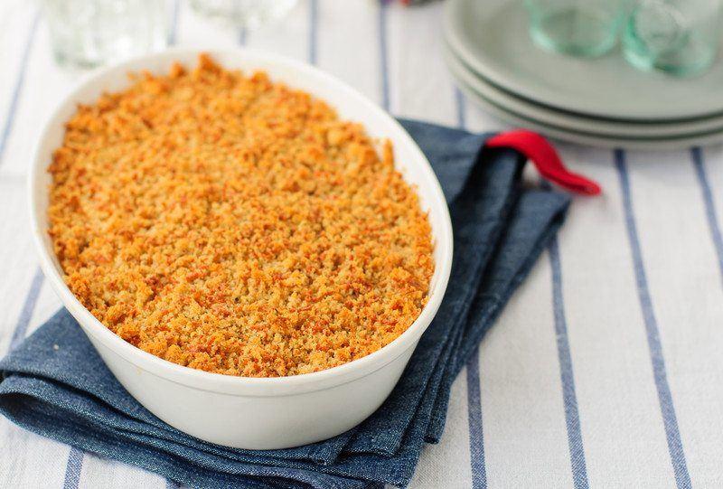 Gluten-Free Apple Crisp with King Arthur Flour
