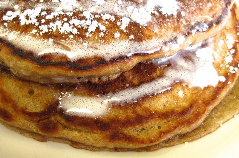 Gluten-Free Carrot Cake Pancakes