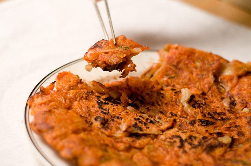 Gluten-Free Kimchi Pancakes