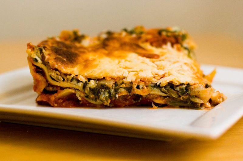 Rachael Ray's Cheesy Eggplant Lasagna