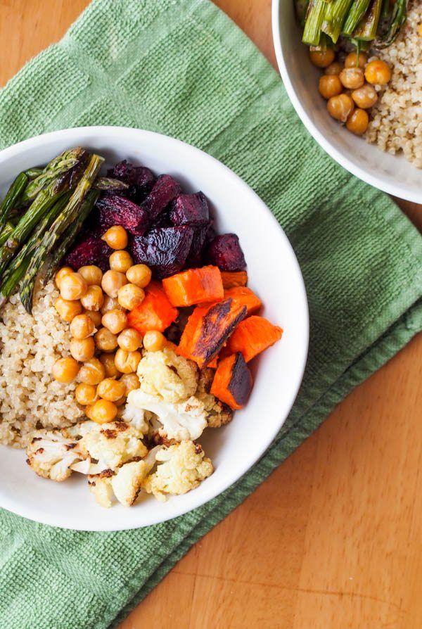 Vegan Quinoa Power Bowl