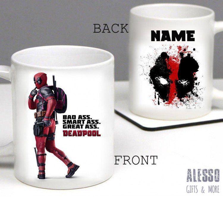 Deadpool Personalized Mug