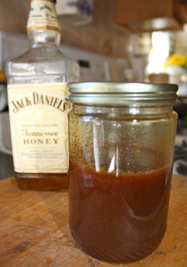 Salted Whisky Caramel Sauce