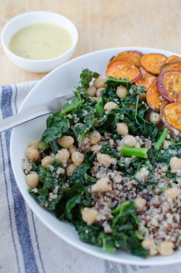 Kale and Miso Power Bowl