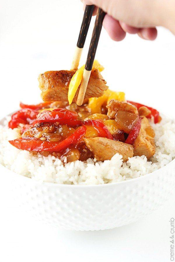Mango Chicken Stir Fry