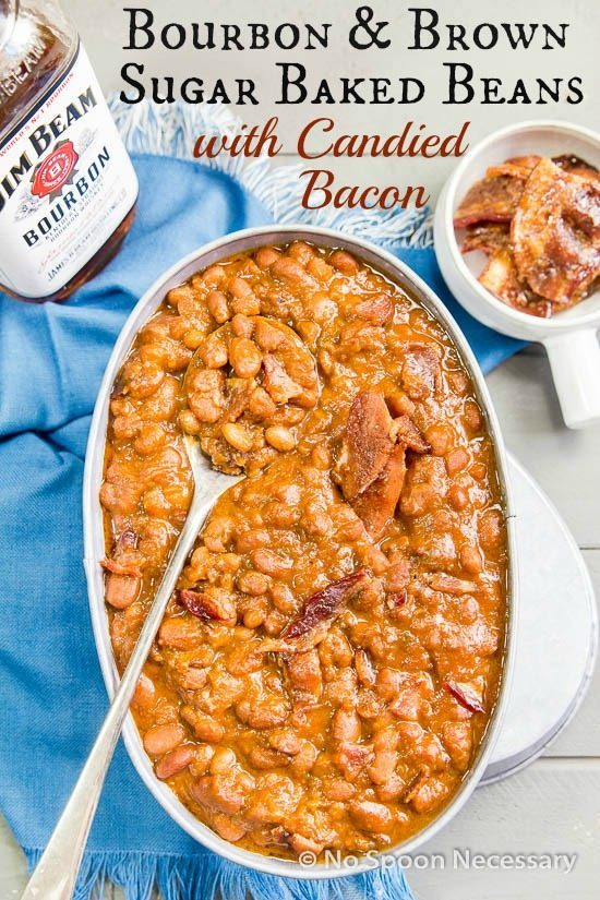 Bourbon and Brown Sugar Baked Beans