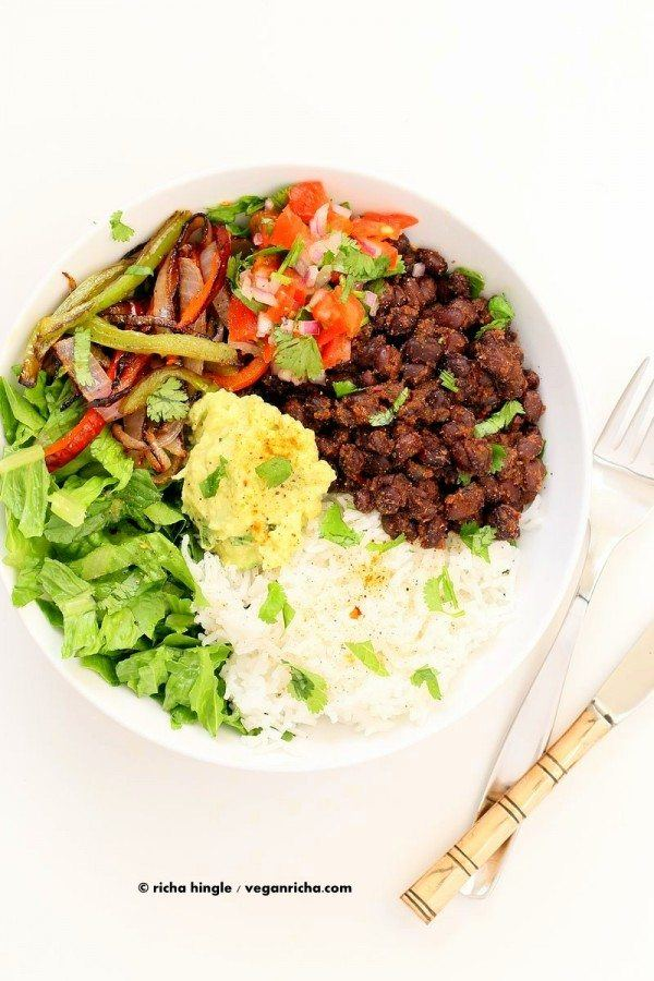 Easy Black Bean Burrito Bowl