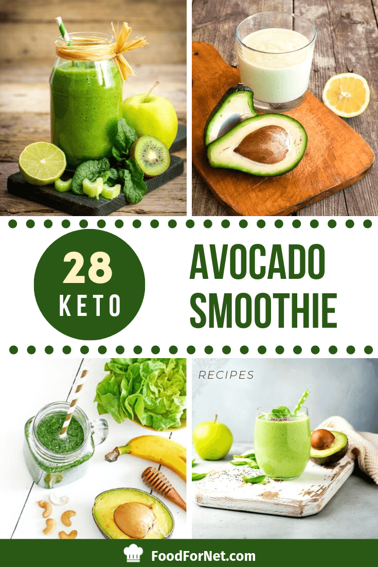 28 Keto Avocado Smoothie Recipes That Are Creamy, Fat-Filled