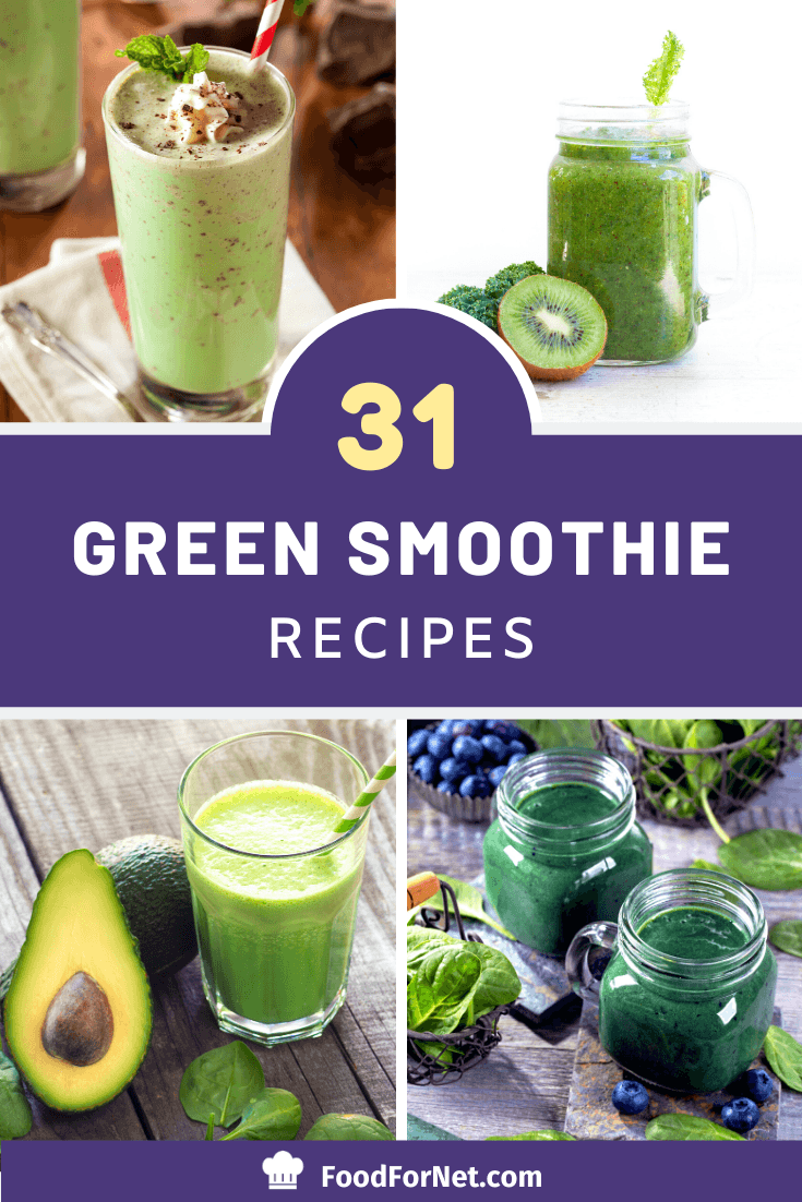 31 green smoothies that will even appeal to veggie haters