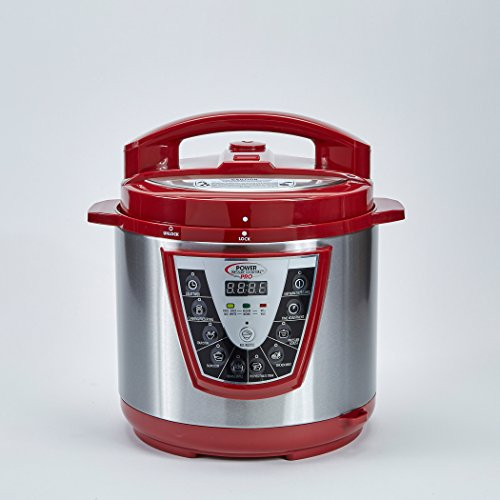 how to use power pressure cooker xl first time
