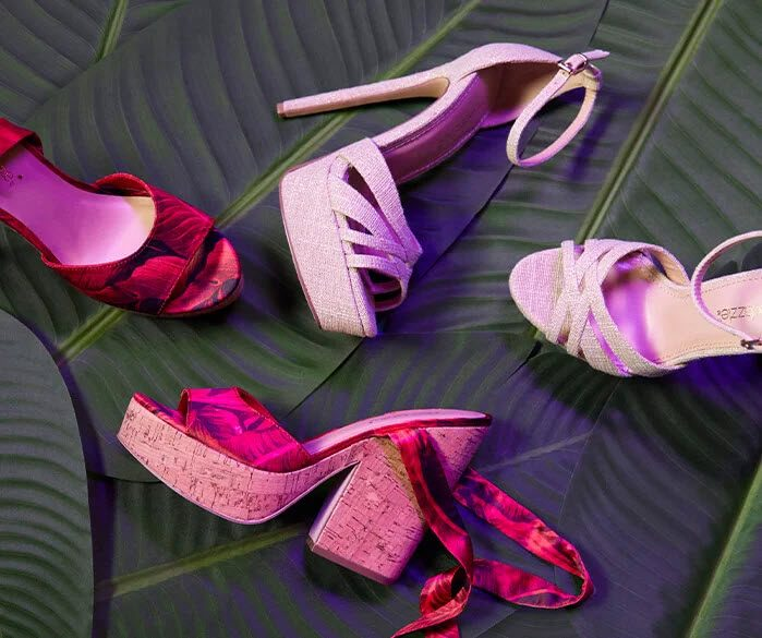 A selection of shoes from Shoe Dazzle