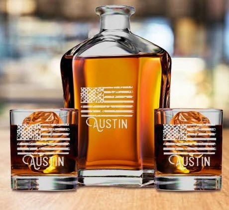 26 Personalized Whiskey Decanter Sets For The Refined Drinker