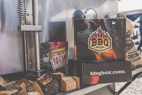 A selection of wood chips and other BBQ items