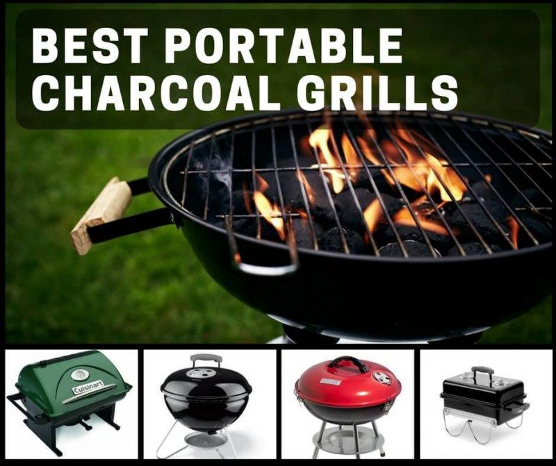Best Portable Charcoal Grills For The Beach Camping Or