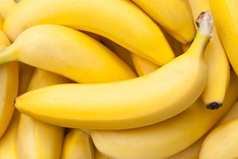 A selection of fresh bananas